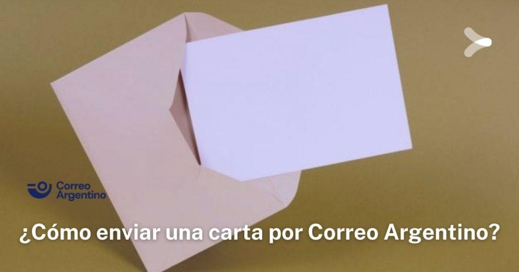 ¿Cómo enviar una carta por Correo Argentino?