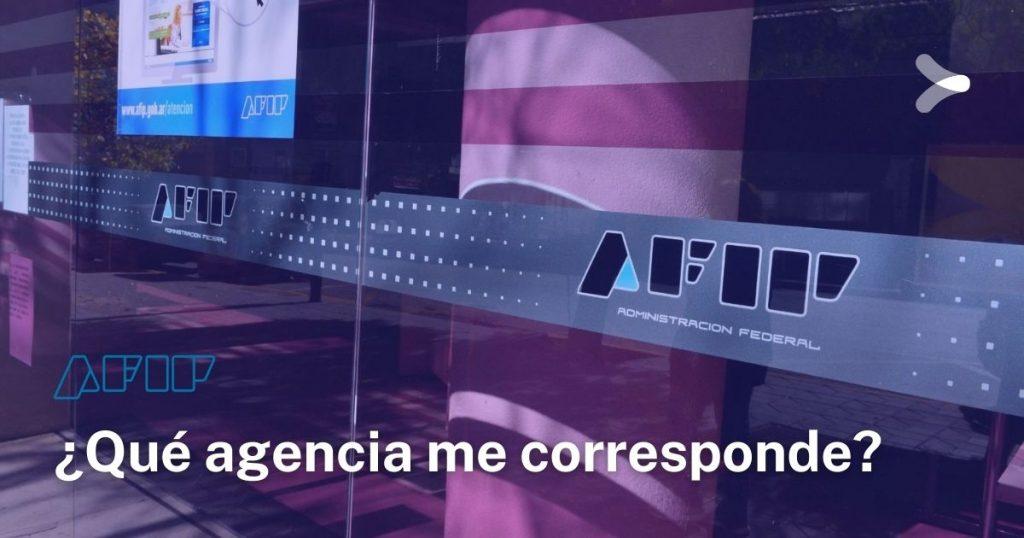 AFIP: ¿qué agencia me corresponde por mi domicilio?