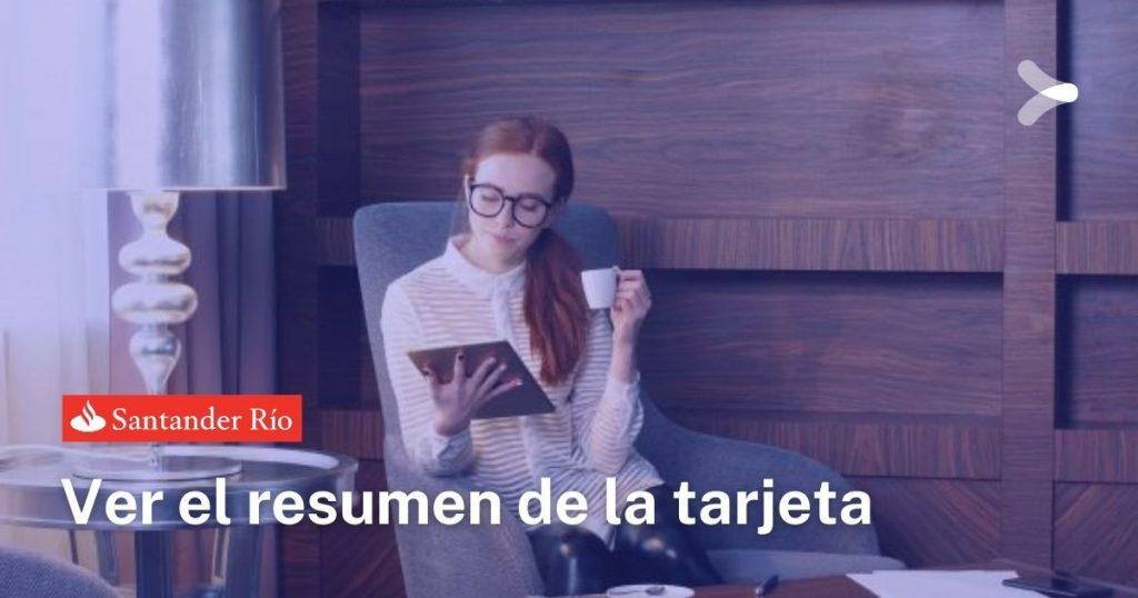 Banco Santander: ¿cómo ver el resumen de la tarjeta?