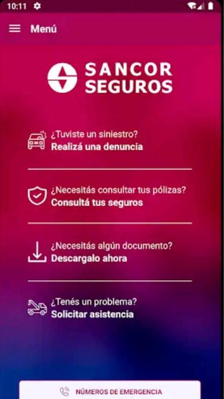 App de SanCor Seguros