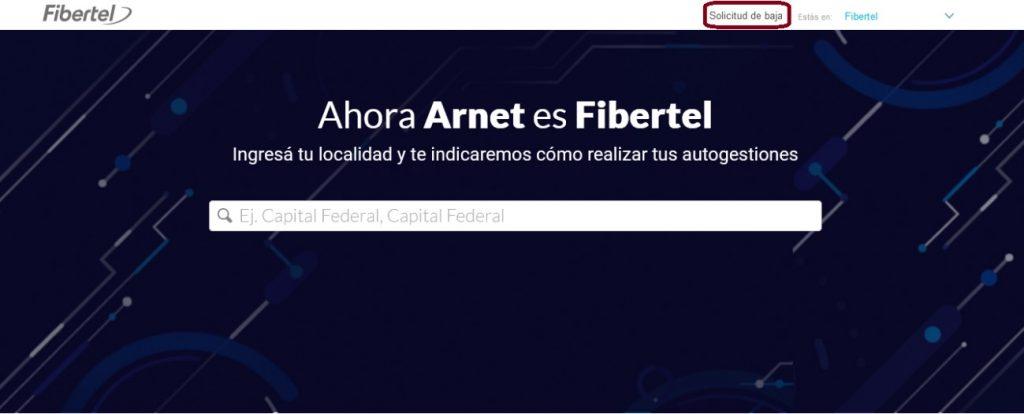 web de Arnet
