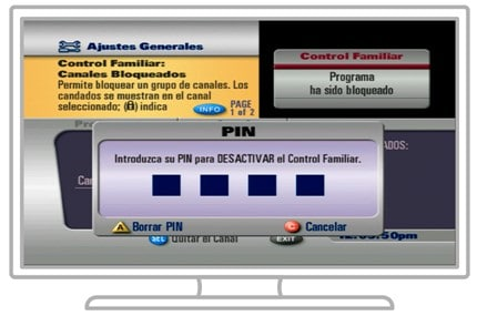 Desactivar Control Familiar
