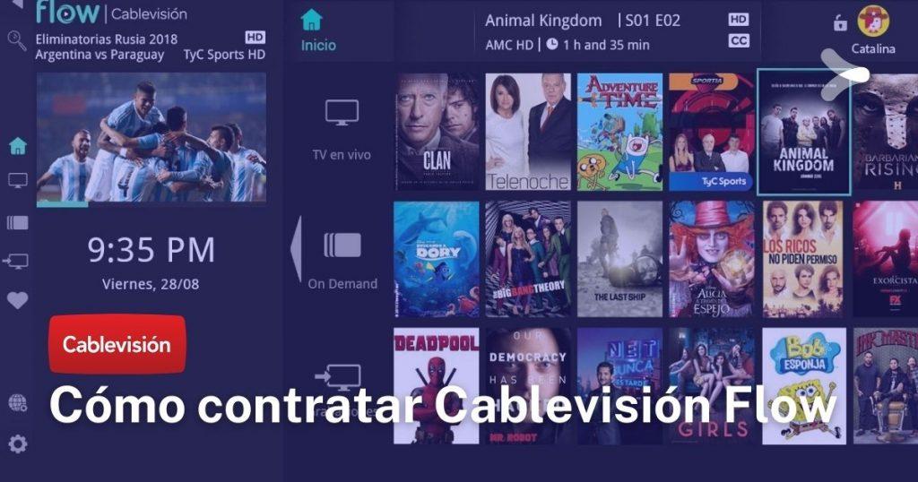Cablevisión: ¿qué es y cómo contratar Flow?