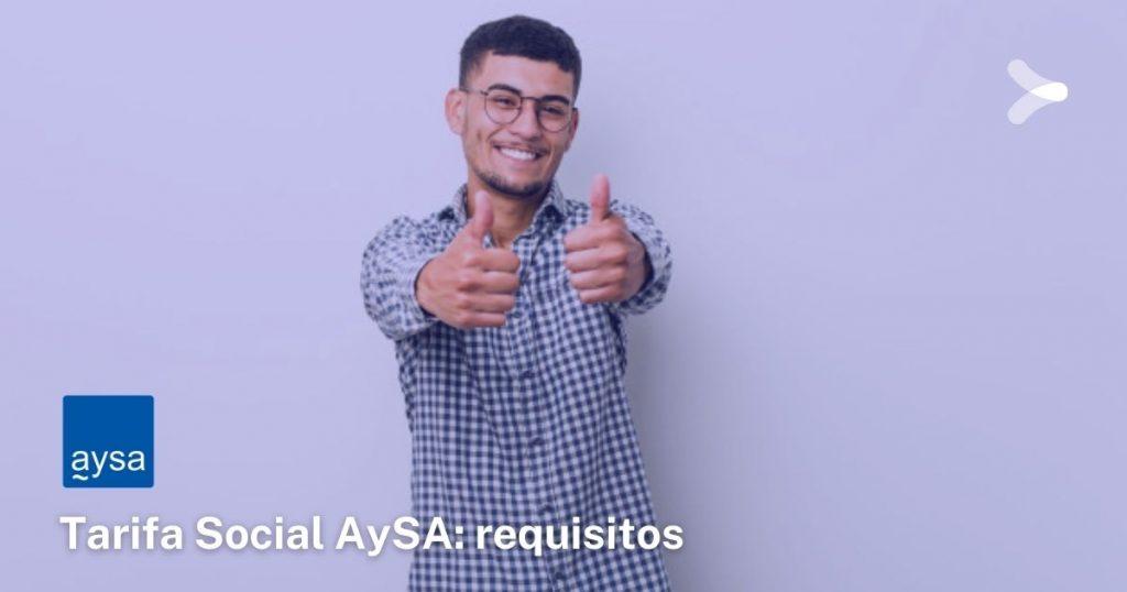 ¿Cómo solicitar la tarifa social de AySA?