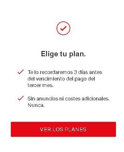 elegir plan