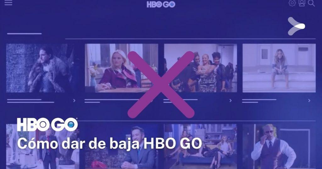 Cómo dar de baja HBO GO: paso a paso