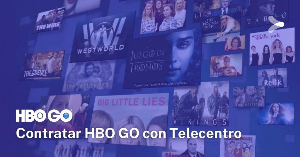 HBO GO: cómo contratar el servicio teniendo Telecentro