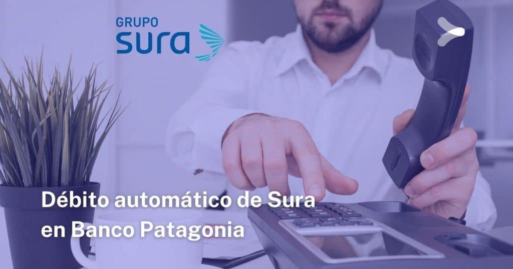 Débito automático de Sura en Banco Patagonia