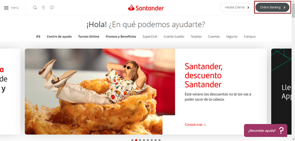 Cómo saber mi número de CBU Banco Santander